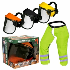 Forester Trimmer Trouser Chaps/Face Shield Combo