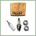 Forester Tune-Up Kit for Husqvarna Chainsaws - 61, 66, 266, 281, 288 (Paper Material)