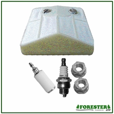 Forester Tune-Up Kit for Husqvarna Chainsaws - 61, 66, 266, 281, 289 (Paper Material)