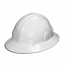 Forester White Full Brim Safety Helmet - #8150