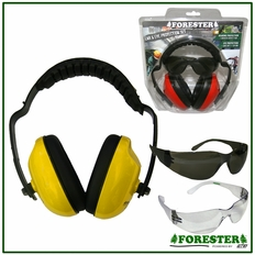 Forester Yellow Muff & Glasses Combos - #Fo513t-Y, #Fo513c-Y