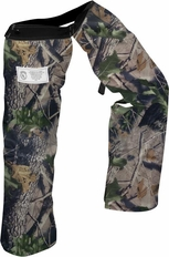 Forester Zipper Style Chainsaw Chaps - Camo