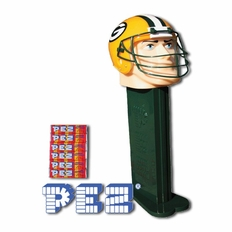 """Green Bay Packers Giant PEZ Dispenser Collectible- 12"""" Tall"""