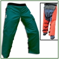 """Forester 37"""" Wrap Around Chainsaw Chaps - Forest Green"""