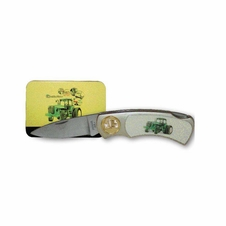 John Deere Collectable Knife & Tin Set #Pk2020jd4