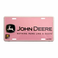 John Deere Novelty License Plate #Jd-Pbplate