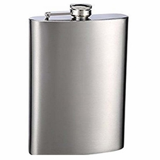 Maxam Stainless Steel 4oz Flask