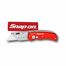 Snap-On Aluminum Handle Foldable Locking Utility Knife