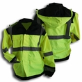 Forester Class 3 Hi-Vis Extreme Stylish Lightweight Rain Jacket