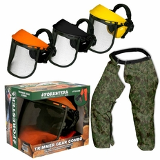 Forester Trimmer Trouser Chaps/Face Shield Combo - Camo