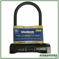 "Wordlock 4.5"" x 9"" Hardened Steel Security Shackle Combination Lock"