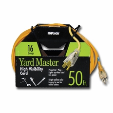 Yard Mast 50 Ft. High Visibility Extension Cord #26124