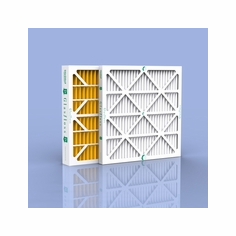 "2"" Glasfloss White Pleated - Air Conditioner and - Furnace Filters Merv 10"