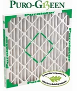 Puro Green Filters 12x16x1<br>($6.71 Each - 1 Case of 12)