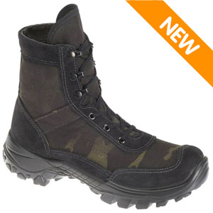 Bates E01496 Men's Recondo Black Multicam Jungle Assault 8in Boot
