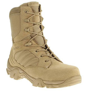 f7e497a6f8c9cb Bates E02276 GX-8 Men s Desert Tan Composite Toe Side Zip Boot