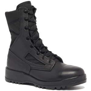 Belleville 300 TROP ST Hot Weather Black Steel Toe Combat Boot