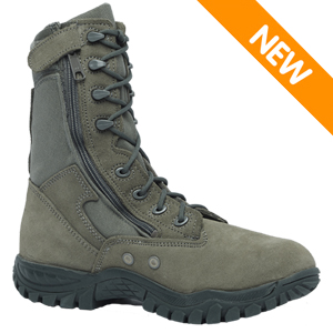 Belleville 612 Z ST Men's USAF Hot Weather Side Zip Steel Toe Military Boot