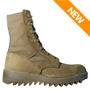 McRae 8188 Men's Hot Weather OCP ACU Coyote Brown Military Boot w Ripple Outsole