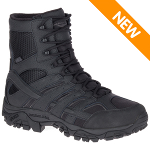 Merrell J15845 Men's Moab 2 Black Tactical Waterproof Boot