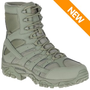 Merrell J17711 Men's Moab 2 Tactical Waterproof Sage Green USAF Boot