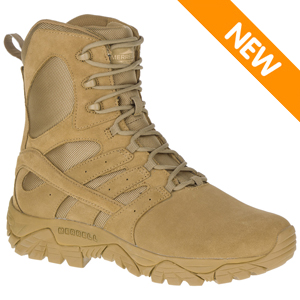 Merrell J17765 Men's Moab 2 Tactical Defense Hot Weather Coyote Brown Boot