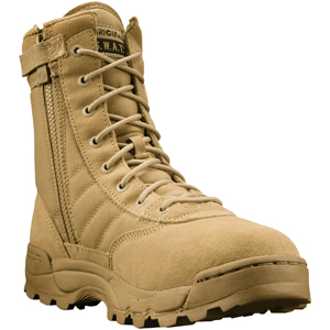 Original SWAT Classic Men's 9in Hot Weather Side-Zip Tactical Boot 115202