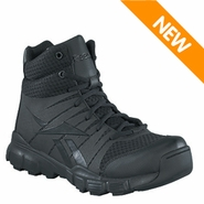 Reebok RB4507 Men's Dauntless Black Side Zipper Soft Toe 5in Tactical Boot