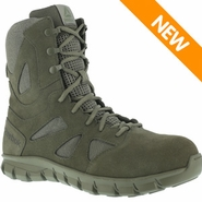 Reebok RB8881 Men's Sublite Cushion USAF Sage Green Side Zip Tactical Boot