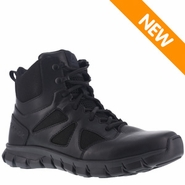 Reebok RB8605 Men's Sublite Cushion Side Zip 6 inch Tactical Boot