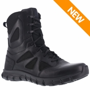 Reebok RB8806 Men's Sublite Cushion Waterproof Side Zip Tactical Boot