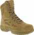 Reebok RB885 Women's Rapid Response ACU Side Zipper Composite Toe Coyote Brown Boot