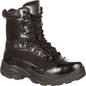 Rocky 2049 Men's Fort Hood Waterproof Black Duty Boot
