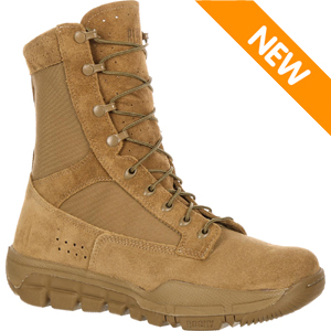 Rocky RKC042 Men's Coyote Brown OCP ACU Lightweight Commercial Military Boot