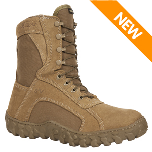 Rocky S2V Waterproof Insulated 400g Coyote Brown Tactical Military Boot (104-1)