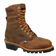 "Thorogood 804-3550 American Heritage 8"" Waterproof Insulated Logger - Safety Toe"