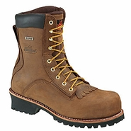 Thorogood 804-3556 American Heritage 8in Waterproof Logger Oblique Composite Safety Toe
