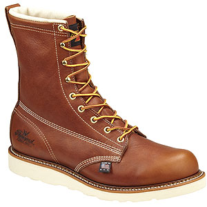 Thorogood 804-4210 American Heritage 8in Waterpoof Plain Toe - Composite Safety Toe