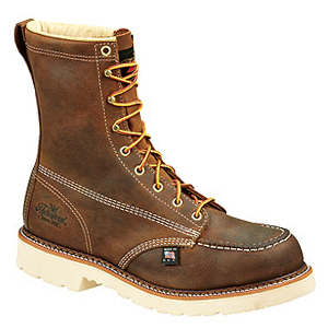 Thorogood 804-4378 American Heritage 8in Moc Toe Safety Toe