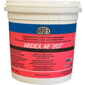 ARDEX AF 207 - Pre-Mixed, Rapid-Set Uncoupling Membrane Bonding Adhesive - 4 Gallon