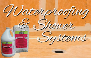 Waterproofing and Shower Systems