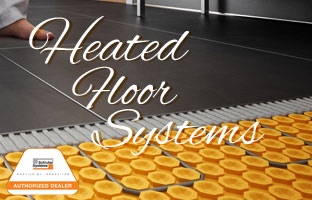 Floor Warming Systems - Ditra Heat, Suntouch Warm Wire and Mat