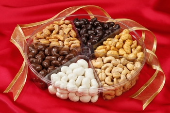 6-Section Cashew Assortment Gift Tray