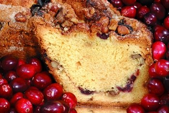 My Grandma's Cape Cod Cranberry Coffee Cake