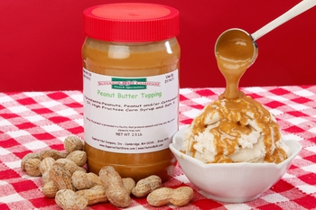 Peanut Butter Topping (2.5 Pound Jar)