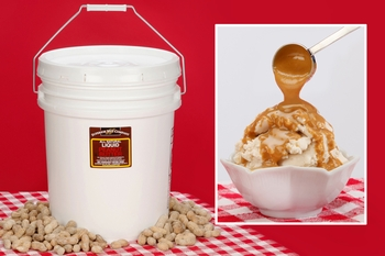 Peanut Butter Topping (45 Pound Pail)