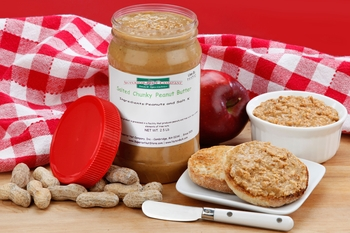 Salted Chunky Peanut Butter (2.5 Pound Jar)