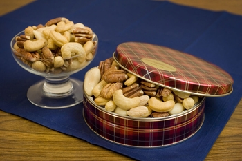 Salted Superior Mixed Nuts Gift Tin