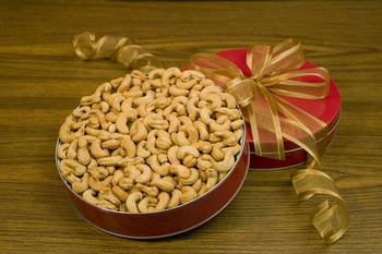 Unsalted Giant Cashews Gift Tin (32oz Gift Tin)
