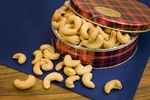 Unsalted Giant Whole Cashews Gift Tin